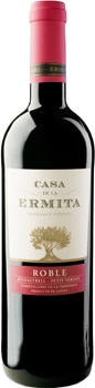 Casa de la Ermita 2008 Roble is composed of 80 per cent Monastrell and 20 per cent Petit Verdot