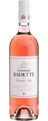 Kanonkop 2012 Kadette Pinotage Rose offers lovely floral aromas and juicy raspberry flavors