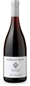 Nobilo 2014 Icon Pinot Noir has a dark berry fruit flavor without harsh tannins