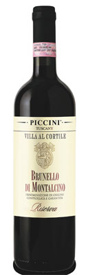 Piccini 2008 Riserva Brunello di Montalcino DOCG, one of GAYOT's Top 10 Steak Wines
