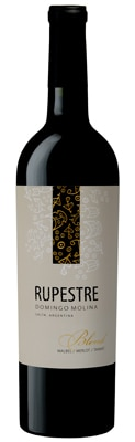 Rupestre 2006 Red Blend is composed of 60 percent Malbec, 30 percent Merlot and 10 percent Tannat