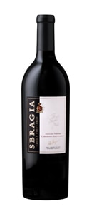 Sbragia 2013 Andolsen Vineyard Cabernet Sauvignon has hints of ripe cherries, charcoal and leather