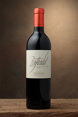 Seghesio Family Vineyards 2011 Rockpile Zinfandel features flavors of blackberry and candied apple