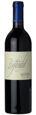 Seghesio 2011 Sonoma Zinfandel is composed of 90 percent Zinfandel and 10 percent Petite Sirah