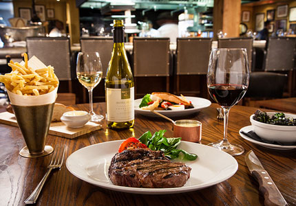 Select the right pairing for your rib-eye with GAYOT's Top 10 Steak Wines