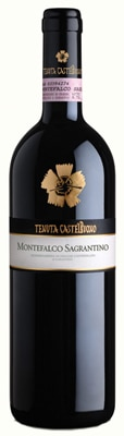 Tenuta Castelbuono 2007 Montefalco Sagrantino DOCG is produced in Umbria by the Lunelli family