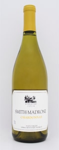 Smith-Madrone Chardonnay 2014 has a creamy mouthfeel, plus a fair amount of citrus tang