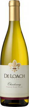 DeLoach 2013 Russian River Valley Chardonnay has notes of apple and pear