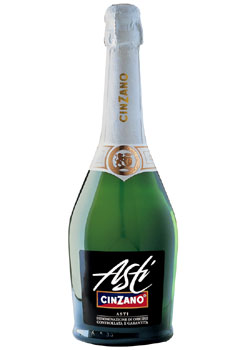 Cinzano Sparkling Asti, one of our Top 10 Summer Wines