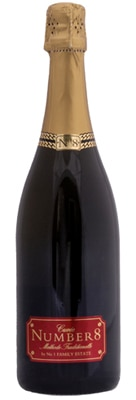 No 1 Family Estate Number 8 Cuvee is composed of 65 percent Pinot Noir and 35 percent Chardonnay