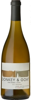 Donkey & Goat Stone Crusher 2014 Roussanne has notes of spice and stone fruit