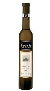 Inniskillin 2007 Vidal Icewine dessert wine, one of our Top 10 Summer Wines