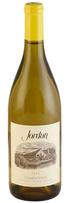 Jordan 2011 Chardonnay features a creamy mouthfeel, fresh apple and peach flavors and a balanced acidity