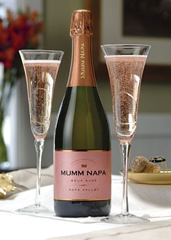 Mumm Napa Brut Rose, one of our Top 10 Summer Wines