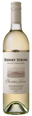 Rodney Strong 2012 Charlotte's Home Sauvignon Blanc boasts a heady bouquet of peach, pineapple and tangerine