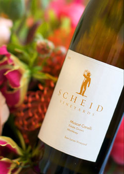 Scheid Vineyards 2008 Muscat Canelli, one of our Top 10 Summer Wines