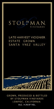 Stolpman 2007 Late Harvest Viognier, one of our Top 10 Summer Wines 2012