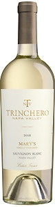 Trinchero Mary's Single Vineyard Sauvignon Blanc 2016 has vibrant notes of apricot and pear