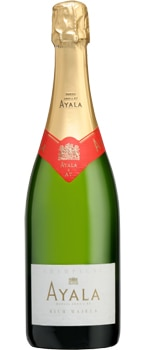 Champagne Ayala Rich Majeur features a dosage of 40 grams per liter