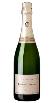 Champagne Laurent-Perrier Demi-Sec harkens back to an era when wines were sweeter