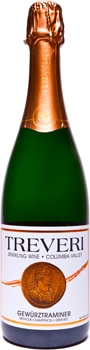 Treveri Cellars Sparkling Gewurztraminer offers fragrant floral and spiced aromas
