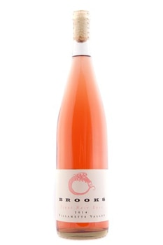 Brooks 2014 Pinot Noir Rose boasts flavors of strawberry and vanilla