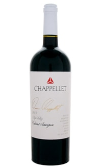 The Chappellet 2007 Signature Cabernet Sauvignon is on our list of the Top 10 Wines for Thanksgiving