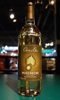 Chateau Elan Muscadine, one of our Top 10 Thanksgiving Wines 2011