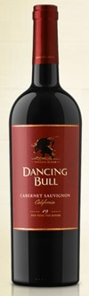 Dancing Bull 2009 Cabernet Sauvignon, one of our Top 10 Thanksgiving Wines 2011