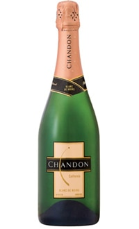 Domaine Chandon Blanc de Noirs, one of our Top 10 picks for the best wines for Thanksgiving