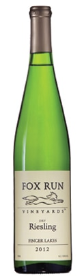 Fox Run 2012 Dry Riesling, one of GAYOT's Top 10 Thanksgiving Wines