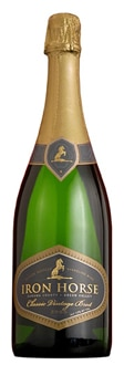 Iron Horse 2007 Classic Vintage Brut is composed of 75 per cent Pinot Noir and 25 per cent Chardonnay