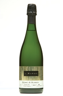 L. Mawby Blanc de Blancs, one of our Top 10 Thanksgiving Wines 2011