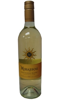 Mirassou Winery 2008 California Sauvignon Blanc is on our list of the Top 10 Wines for Thanksgiving