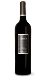 The Niner 2007 Merlot is on our list of the Top 10 Wines for Thanksgiving