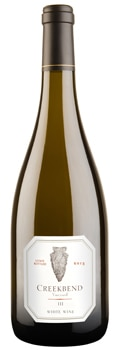 Oliver Winery and Vineyards 2013 Creekbend III boasts flavors of peach and pineapple