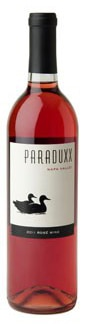 Paraduxx 2011 Napa Valley Rose is made from Zinfandel and Merlot grapes