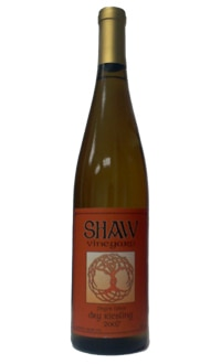 Shaw Vineyard 2007 Dry Riesling, one of our Top 10 Thanksgiving Wines 2011