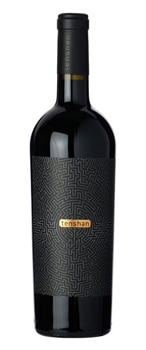 Tenshen 2014 Santa Barbara County Red Wine offers full-bodied flavors of cherry and plum