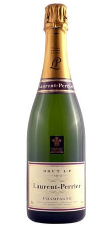 A bottle of Champagne Laurent-Perrier Brut
