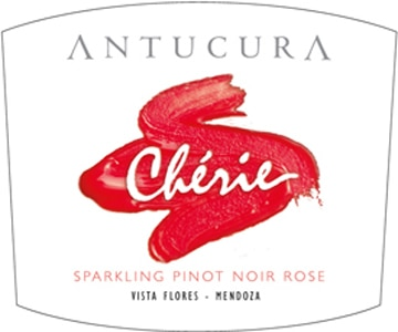 Pink bubbles delight in the Antucura Chérie Sparkling NV