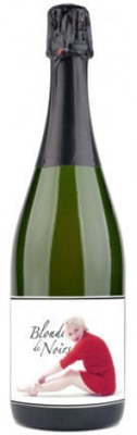 Marilyn Wines 2010 Blonde de Noirs is a sparkling wine made entirely from Pinot Noir