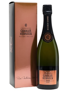 Charles Heidsieck 2006 Rosé Millésimé has aromas of candied fruit and nuts