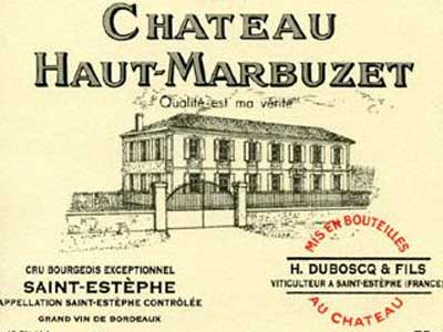 Chateau Haut Marbuzet wine for Valentine's Day