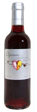 A bottle of Quady Winery 2009 Elysium from Central Valley, CA