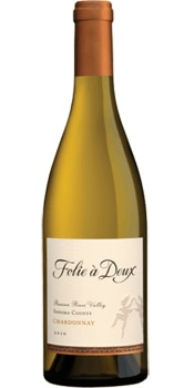 Abundant flavors of honey, lemon and pear leave a rich finish in the Folie a Deux 2013 Chardonnay