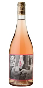 Love & Hope 2016 Rosé is crisp and sweet