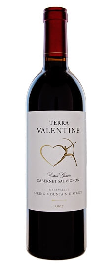 Terra Valentine 2008 Spring Mountain District Cabernet Sauvignon from Napa, CA