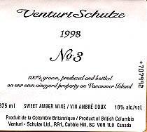 Venturi Schulze Vineyards Brandenburg No 3, a good wine for Valentine's Day