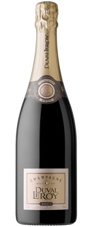 Champagne Duval-Leroy Brut, one of GAYOT's Top 10 Budget Champagnes, offers rich chocolate, fig and cinnamon flavors